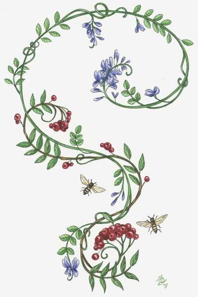 Rowan indigo tattoo