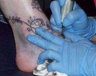 Inking it on