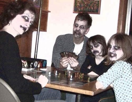 Zombie boardgame